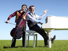 Cello and piano duo in Adelaide